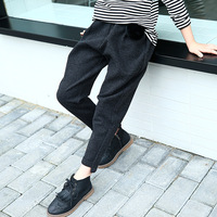 Winter Pants For Girls Leggings 2018 New Fashion Kids Warm Pants Thick Fuffle Leggings 5 6 7 8 9 10 11 12 13 Years Children Pant