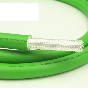 Image 3 - Hi End xangsan 8N OCC посеребренный, 6 ядер, Hi Fi аудио усилитель, динамик, объемный кабель питания