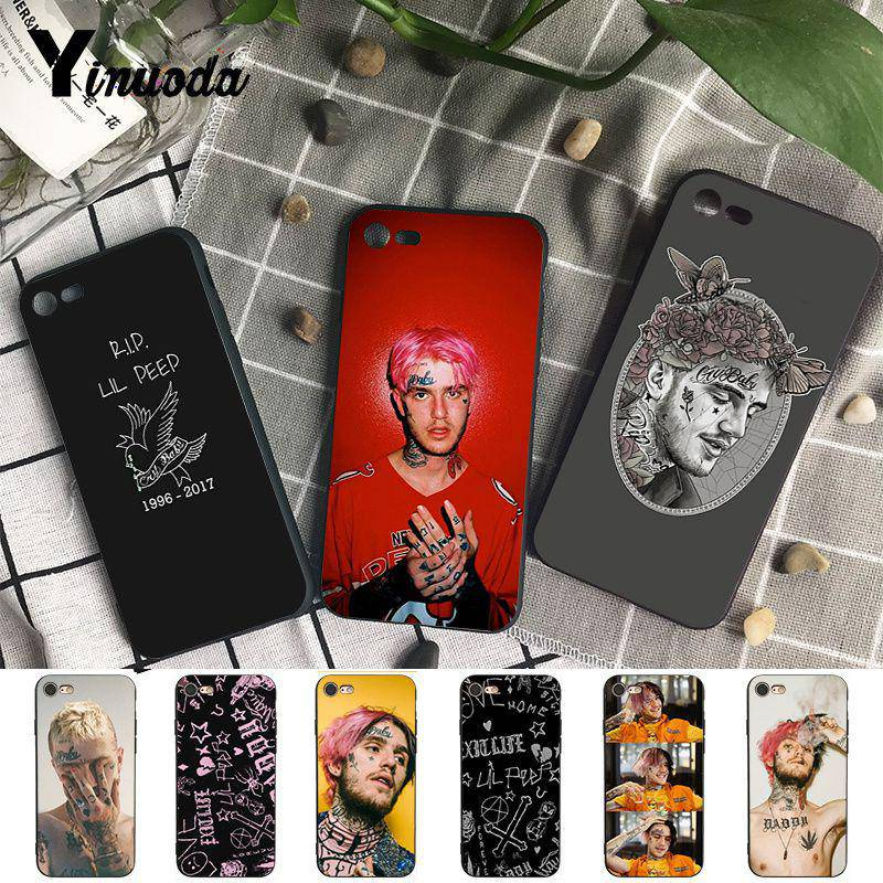 Half-wrapped Case Cellphones & Telecommunications Maiyaca Lil Peep Lil Bo Peep Novelty Fundas Phone Case Cover For Apple Iphone 8 7 6 6s Plus X Xs Max 5 5s Se Xr Cover To Have A Unique National Style