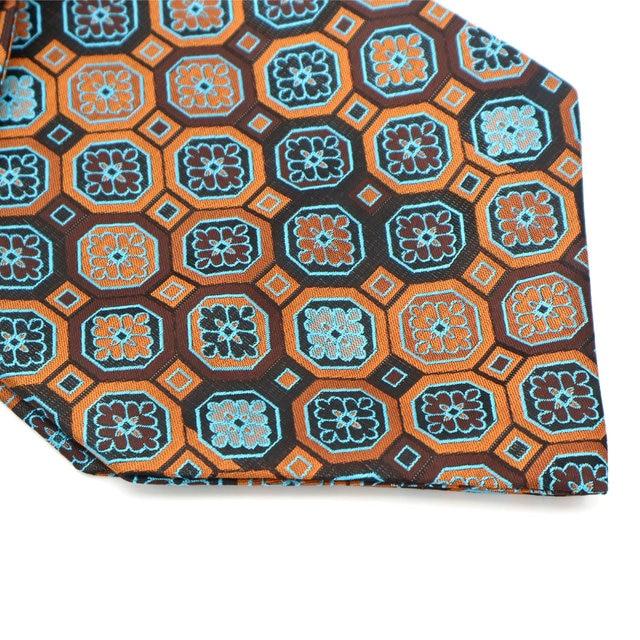 YISHLINE Vintage 100% soie hommes Ascot cravate & mouchoir ensemble Floral Paisley poche carré cravate ensembles pour fête de mariage