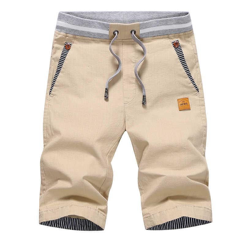 Прямая доставка Лето 2019 г. однотонные повседневные шорты для мужчин брюки карго шорты для женщин плюс размеры 4XL пляжные шорты M-4XL AYG36