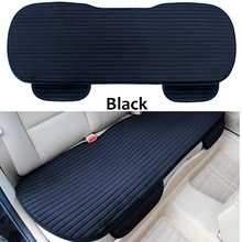 Car Rear Seat Cushion Cover Winter Back Row Seat Protector Mat Universal Size Seat Mat Protector Car Styling Car Seat Cushions
