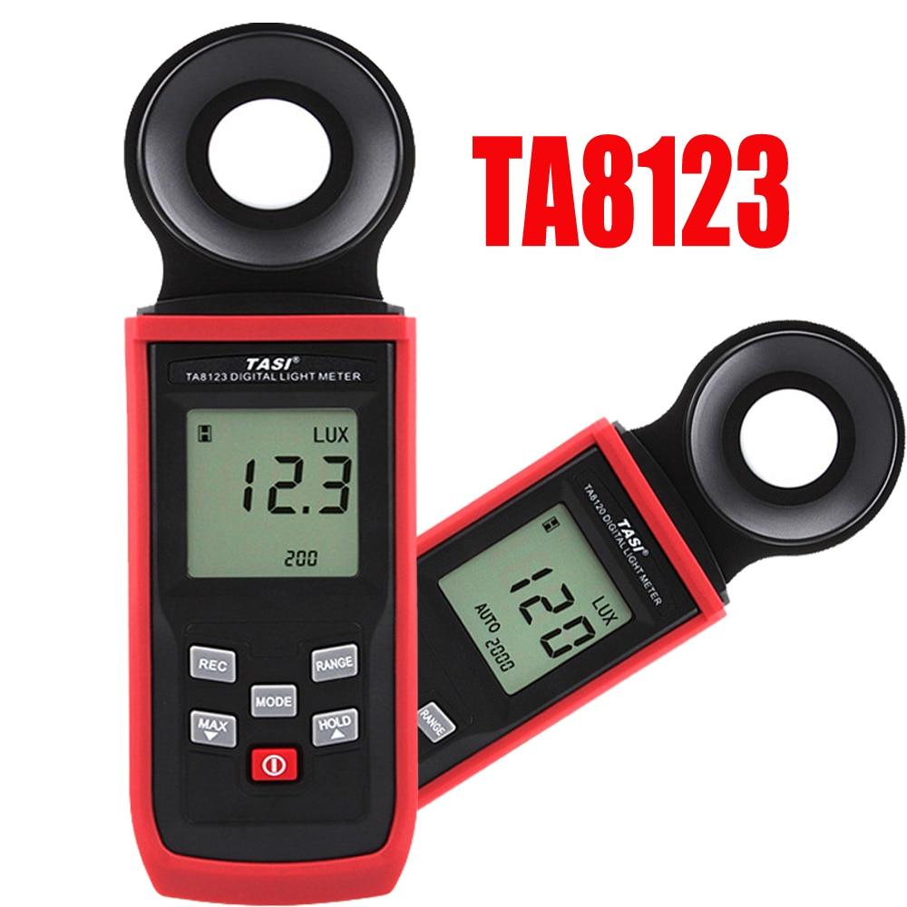 TA8123 Light Meter ,Digital photometer intensity measurement test instrument 200/2000/20000/200000LUX Luminance Meter ta8123 light meter digital photometer luminance meter intensity measurement test instrument 0 1 100000lux