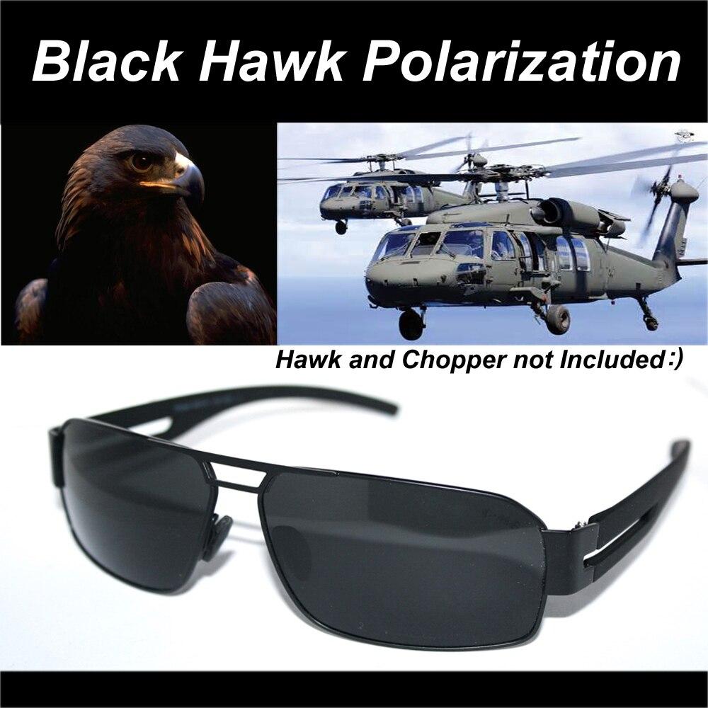 2017 = noir Faucon = de luxe Armée Pilote Tac Renforcée Polarisée Pour Polarisée Golf Uv 400 Hommes de lunettes de Soleil Avec Carte De Test