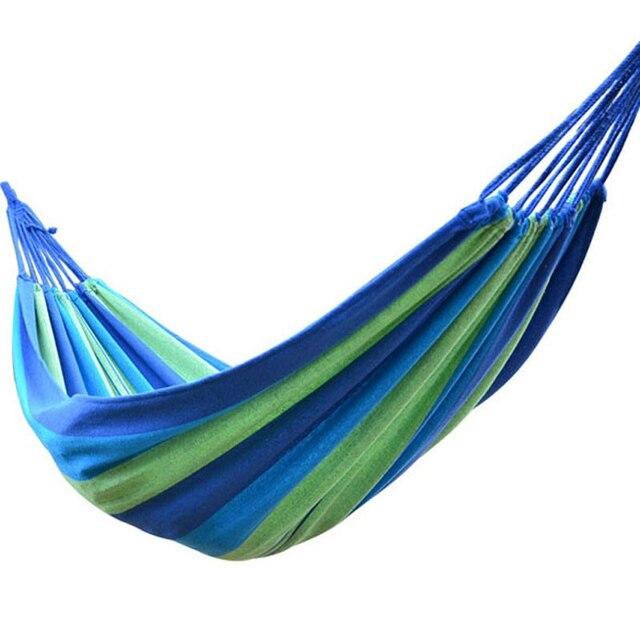 big size 2 person hammock portable camping garden beach travel