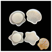 DIY Kawaii Art Epoxy Resin Seashell Silicone Mold Jewelry Ac