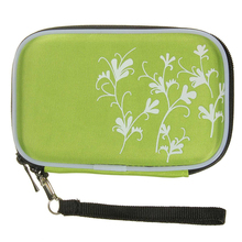 """Abrasion laborious disk Moveable Drive Zipper Cowl Case Bag Shockproof Scratch-resistant 2.5 """" HDD Bag inexperienced"""