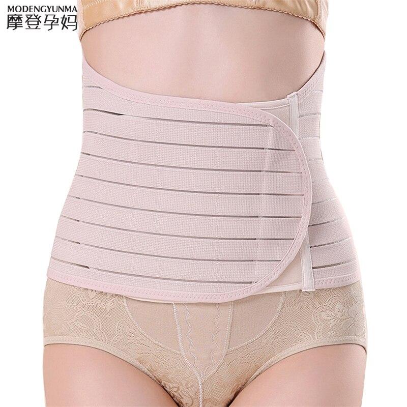 Maternity Postnatal Multi-row Buckle Belt 2019 New Pregnancy Bandage Belly Band Waist Corset Pregnant Control Slimming Belt