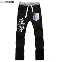 Anime Attack on Titan Freedom wings LOVERS pure cotton pants sports casual trousers cosplay gift NEW Fashion
