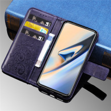 Smartphone Leather Case For Oneplus 7 Pro 6 5 6t 5t 3 3t Case Vintage Wallet Back Cover Oneplus One Plus 7 pro Case Flip Cover