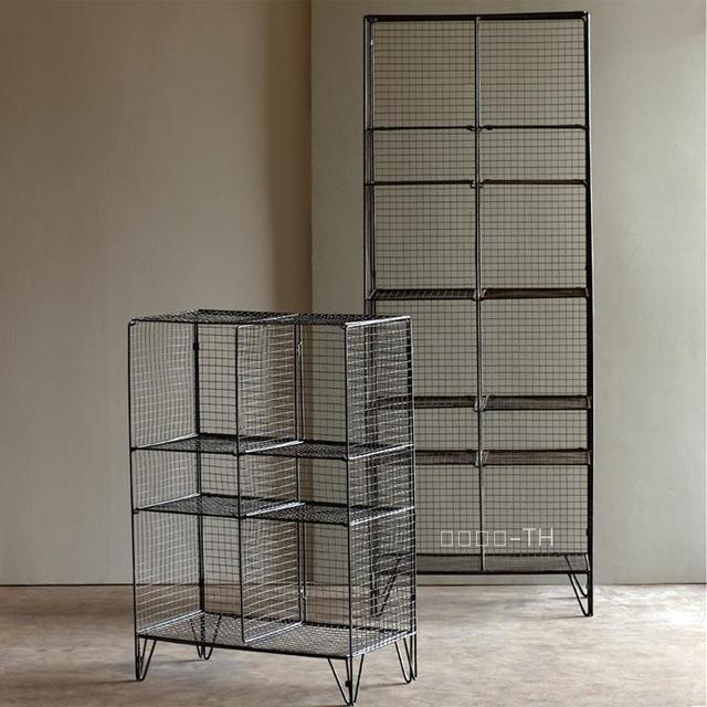 Th francese paese design in ferro battuto scaffali libreria loft ...