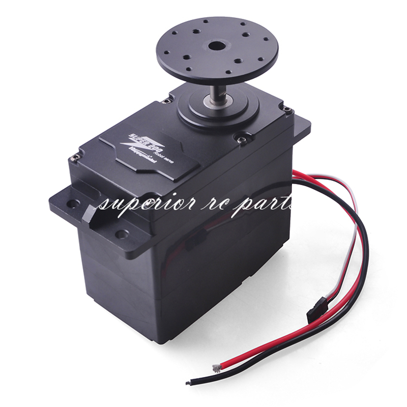 SUPER200 300 High Torque Metal Servo 12 24V 200kg.cm / 300kg.cm 0.5S/60 Degree BEC 5V for DIY Large Robot Arm  GSX amazing high torque and high end servo fast powerfull waterproof ideally designed to use in r c cars