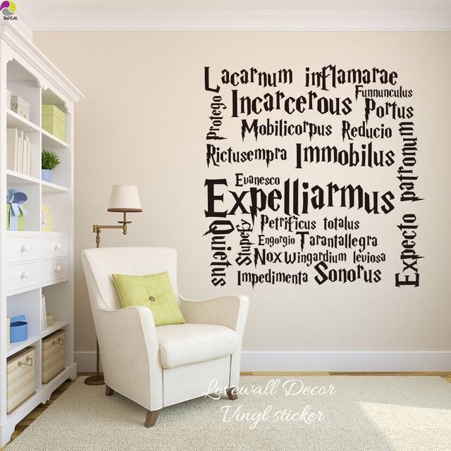 Aliexpress.com : Buy Harry Potter Quote Wall Sticker Kids ...