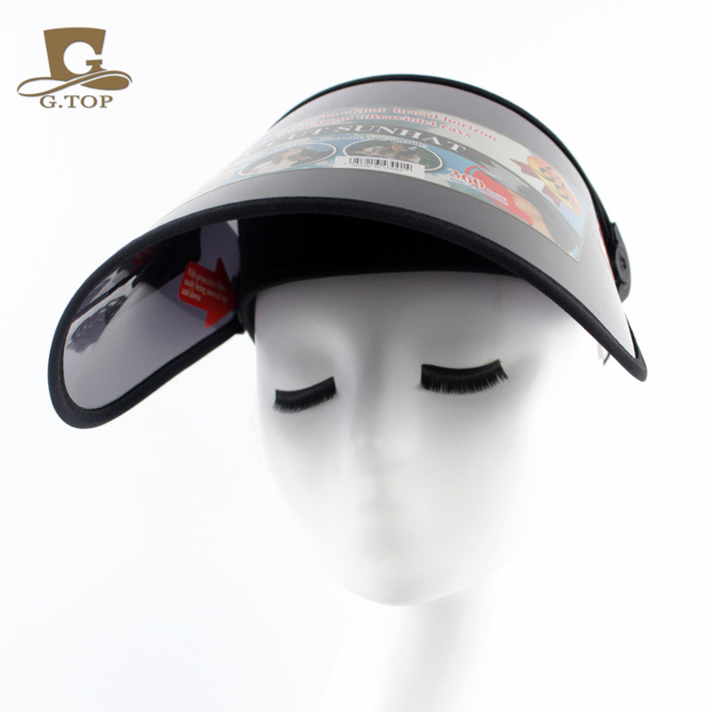 Fashion plastic Sun Visor hat UV Protection Golf Sport CAP adjustable-in  Boys Costume Accessories from Novelty   Special Use on Aliexpress.com  52f39816a324