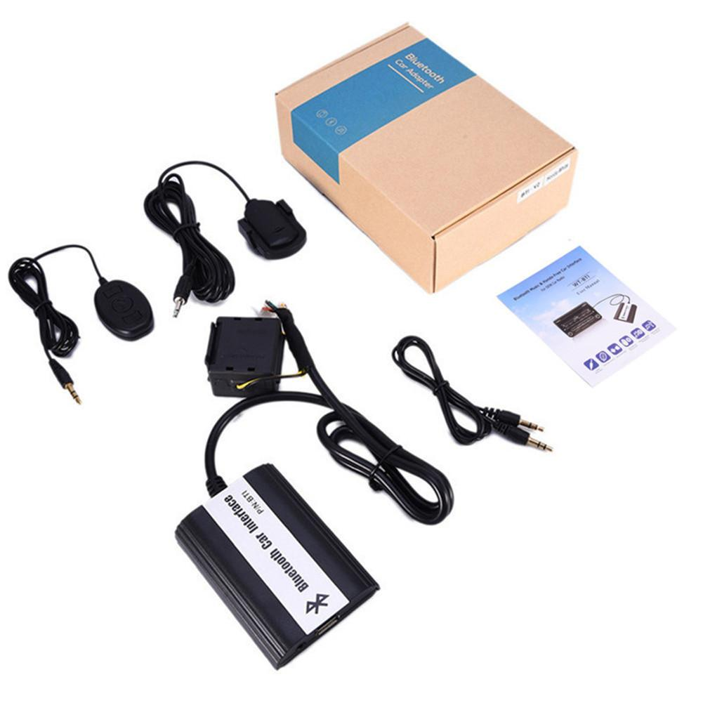AUX Audio Cable Car Stereo Radio USB IPOD Digital Disc Box Adapter For Toyota Modified Bluetooth Car Sound Player