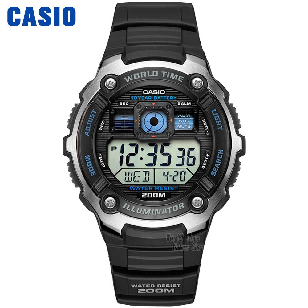 Casio Watch Outdoor Sports Waterproof Quartz Men's Watch AE-2000W-1A AE-2000WD-1A casio ae 2000w 1a