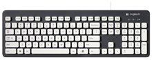 Logitech K310 Моющиеся Клавиатуры для Пк Под Управлением Windows-Черный