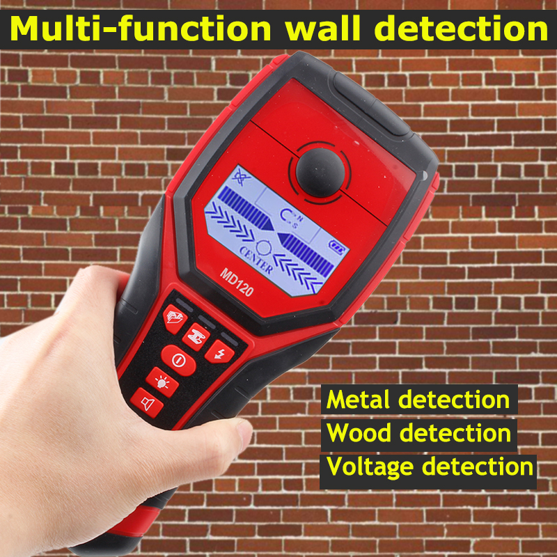 все цены на Wall Detector tester Wood Metal AC Cable electric wire Finder Scanner Accurate Wall detecting tool