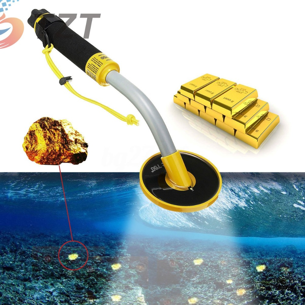 2018 30M Underwater Pulse Induction Metal Detector Pinpointer Probe Gold Hunter Tool цены
