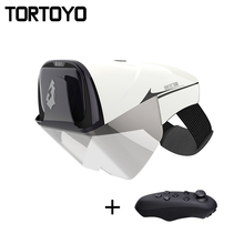 TORTOYO Smart Augmented Reality AR Glasses Virtual Reality 2K FHD 3D Gaming Film Helmet with Bluetooth Remotor for iOS Android
