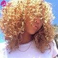 Малайзийский Глубоко Вьющиеся Волосы Девственницы 4 Связки Maylasian Волосы Вьющиеся Цвет 27 Дешевые Необработанные Virgin Блондинка Меда Мелирование Волос Пучок