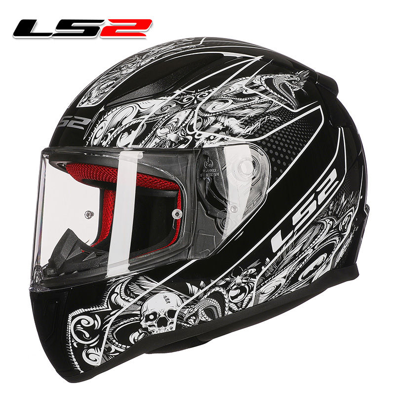 Us 84 55 5 Off New Arrival Ls2 Ff353 Full Face Motorcycle Helmet Abs Reinforced Plastic Shell Man Woman Racing Motorbike Original Ls2 Helmets In