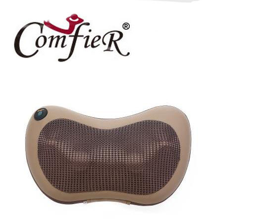 ФОТО Cervical spine massager neck lumbar back multifunctional massage pillow on-board household electric cushion for leaning on