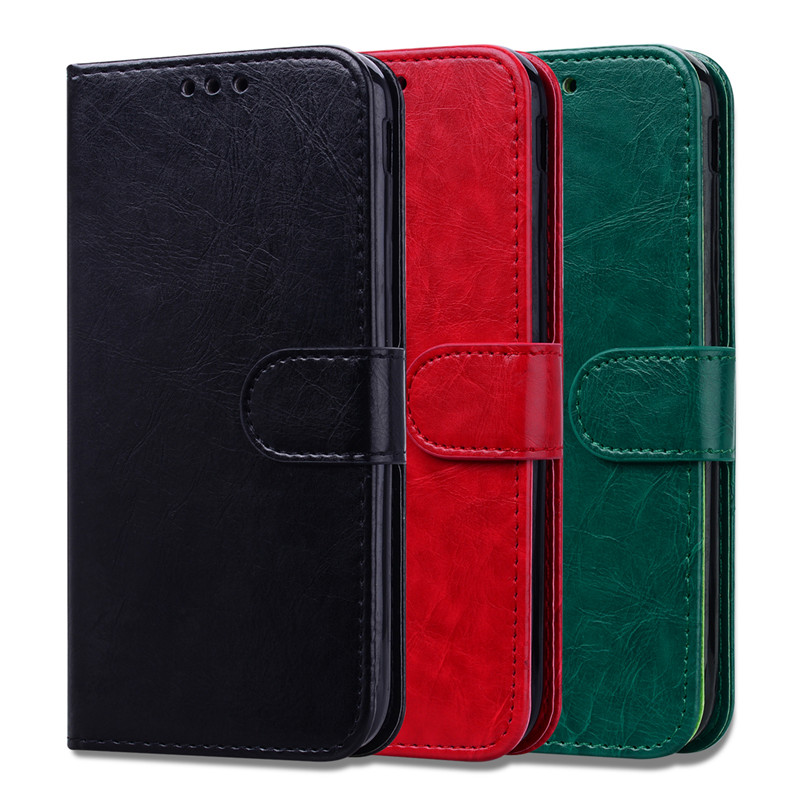 J6 Plus Leather Case on for Samsung Galaxy J6 2018 Cover TPU Case for Samsung J6 2018 /J6 Plus 2018 Wallet Flip Phone Cases