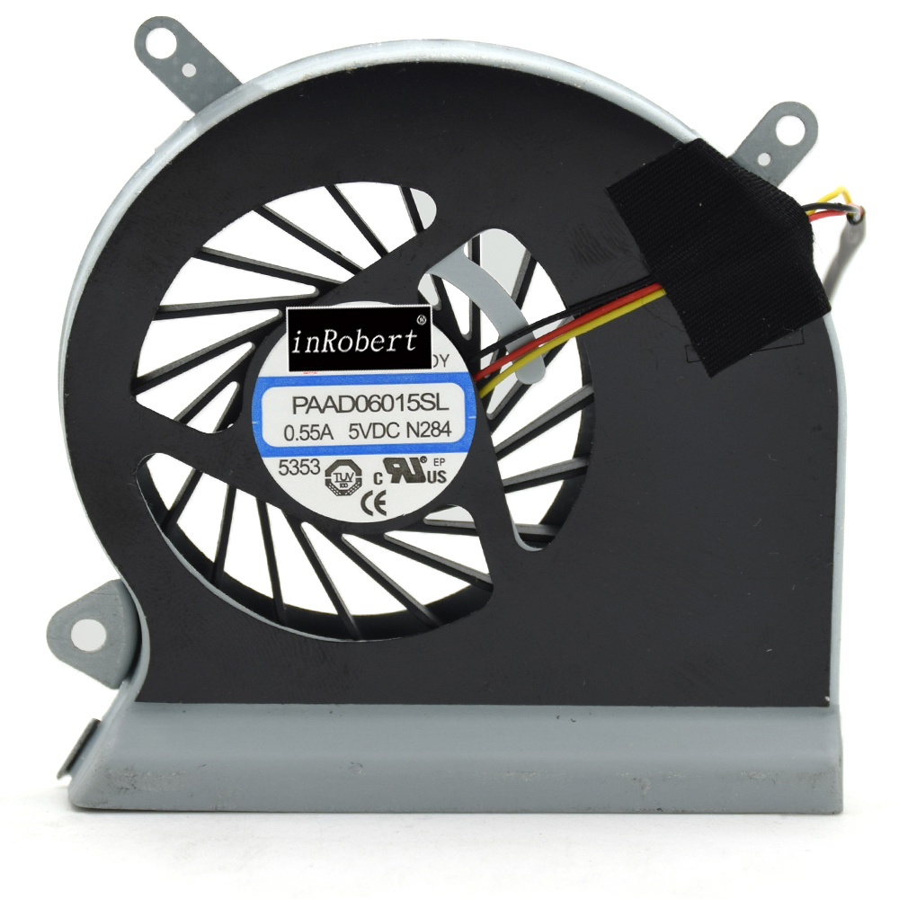 Laptop Cooling Fan PAAD06015SL 0.55A 3Pin For MSI GE60 GP60 16GA 16GC MS-16GA MS-16GC Laptop Cooler Fans ru russian for msi ge60 gt60 ge70 gt70 16f4 1757 1762 16gc gx60 gx70 16gc 1757 1763 backlit laptop keyboard