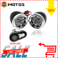 ZS MOTOS Motorcycle Mutilmedia MP3 Player Speakers Audio FM Radio Security Alarm Wireless Bluetooth Remote With