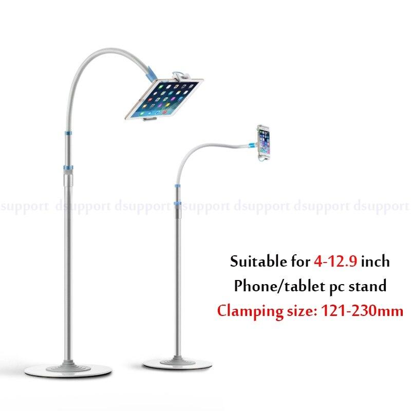 Super Quality Multifunctional Aluminum Copper Hose Neck 4 12 9 inch Tablet PC Mobile Phone Floor
