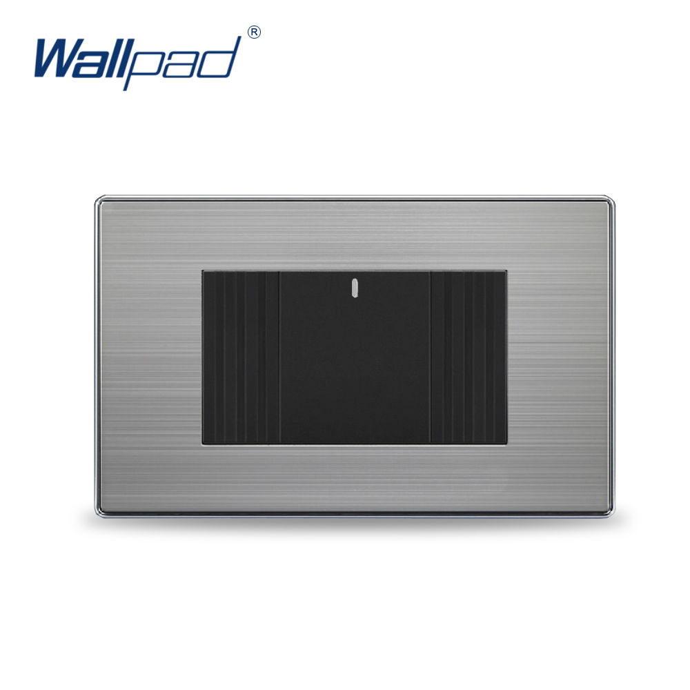 1 Gang Intermediate Switch Hot Sale China Manufacturer Wallpad Push Button One-Side Click Luxury Wall Light hot sale manufacturer wallpad push button random click 16a led indicator luxury wall light 2 gang 2 way switch