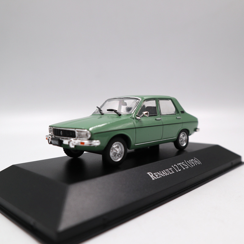 IXO Altaya 1:43 Renault 12 TS 1976 Collection Toys Car Diecast Models Limited Edition