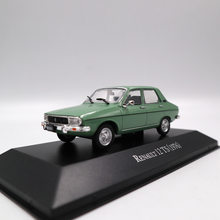 IXO Altaya 1:43 Renault 12 TS 1976 Collection Toys Car Diecast Models Limited Edition(China)