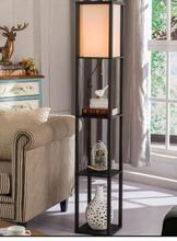 Living room shelf lamp. Tea table lamp of vertical ground.