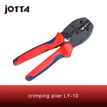 LY-10crimping tool crimping plier 2 multi tools hands LY Ratchet Crimping Plier (European Style)