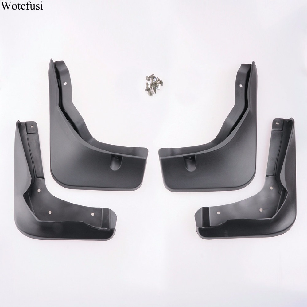 Wotefusi front rear mud flaps splash guard fender for 2016 for Mercedes benz b service coupons