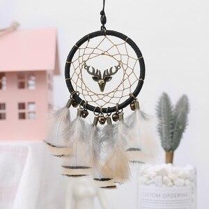 Image 5 - Handmade Dream Catcher Ethnic Feather DreamCatcher Home Wall car wedding Art Hangings Decorations Gift Pendant 2019