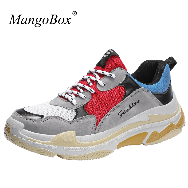 MangoBox Mens Athletic Shoes Spring Summer Running Shoes for Man Sport Shoes Sneakers New Trend Mans Jogging Sneakers