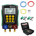 DY517A набор манометров для охлаждения цифровой вакуумный манометр тестер измеритель температуры HVAC тестер клапан набор инструментов