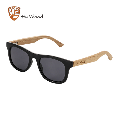 HU WOOD Brand Design Children Sunglasses Multi-color Frame Wooden Sunglasses for Child Boys Girls Kids Sunglasses Wood GR1001 Lahore