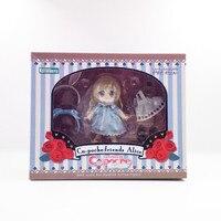 Speciale Q Edizione Alice Coniglio Orecchio Action Figure Toy Modello Bambole di Argilla Persone Veramente Vestiti Auto Tabella Decorazione Bella Ornamento
