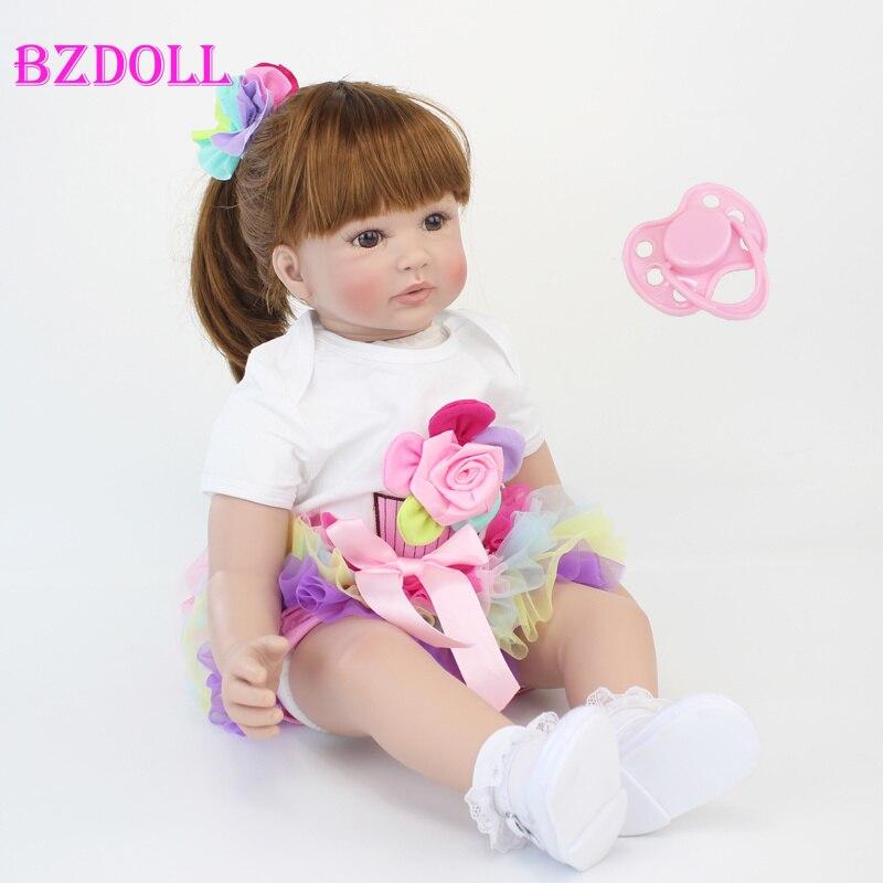 60cm reborn criança boneca brinquedos 24