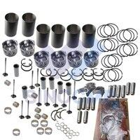 6HK1 6HK1T Motor Rebuild Kit für Hitachi ZX330 Kobelco Kato Fall Bagger und Planierraupe Volle Dichtung Set-in Motor-Umbau-Kits aus Kraftfahrzeuge und Motorräder bei