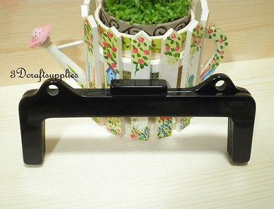 Purse frame 8 3/4 inch x 3 1/2 inch ( 22 cm x 9 cm ) black Acrylic Resin B78