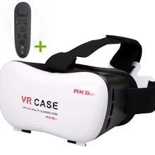 VR Case 5 Headset VR Glasses VR Viewer For Virtual Reality Headset Visore 3D Eyes for Iphone/Huawei/Sony Watch Video Game
