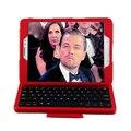 Горячие Продажи ABS Съемный Съемный Беспроводная Bluetooth Клавиатура Кожа Стенд Чехол Для Samsung Galaxy Tab 9.7 T550 + Крышка подарок