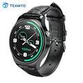 GW01 TEAMYO Bluetooth 4.0 Relógio Inteligente Tela Redonda Suppoer Smartwatch Pedômetro Freqüência Cardíaca Esportes SMS Sync Para Android IOS