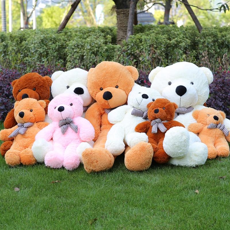 Niuniudaddy Teddy bear skin Anak patung mainan mewah kanak-kanak - Mainan lembut - Foto 4