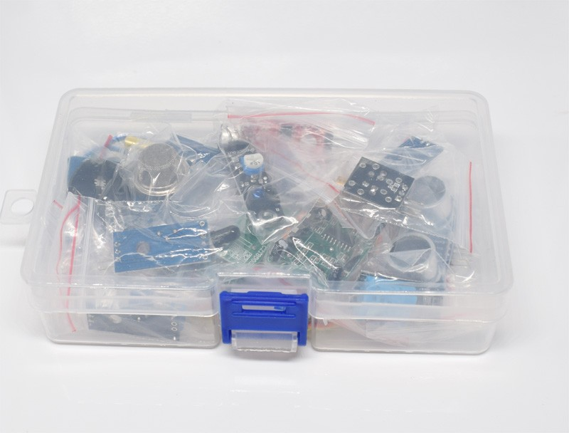 with Retail Box 16pcs/lot Raspberry Pi 3&Raspberry Pi 2 Model B the sensor module package 16 kinds of sensor